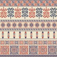 Palestinian embroidery pattern 33