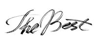 The Best - hand drawn lettering