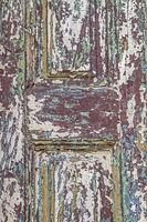 Renovierungsbedürftige Tür