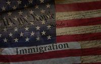 US Immigration concept