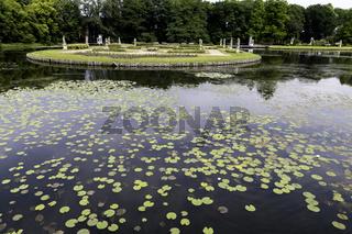 Barockgarten, Wasserburg Anholt, Parkhotel, Wasserschloss, Isselburg NRW