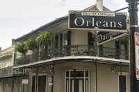 Rue D Orleans Famous Street Downtown French Quarter