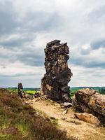 Felsen an der Teufelsmauer im Harz