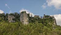 Schloss Werenwag, Donautal bei Beuron