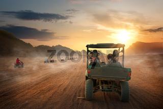 Desert in Egypt