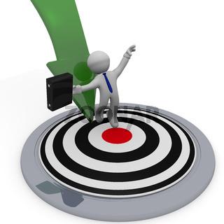 Success or goals 3d concept