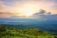 Phu Thap Berk at sunrise