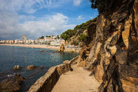 Coastal Trail in Lloret de Mar