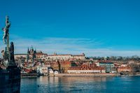 Cathedral and Prague castle, Czech Republic