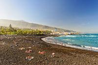 Strand von Puerto de la Cruz - Teneriffa