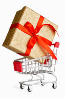 Gift shopping concept