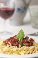 Trofie Nudeln aus Ligurien Italien