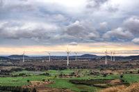 Yongnuni Oreum wind turbines