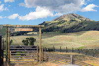 High Country Ranch and Corrals Western Rocky Mountains