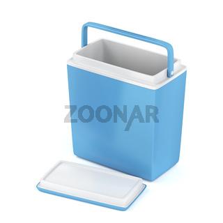 Empty cooling box