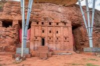 Bete Abba Libanos Rock-Hewn Church, Lalibela, Ethiopia