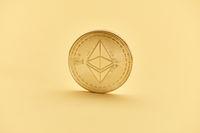 Ether Münze als Konzept für Blockchain und Smart Contracts