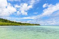 Ko Ra Wi island and sea in Thailand