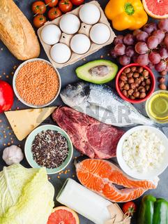 Healthy nutrition concept