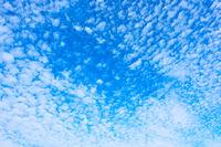 Plenty small white clouds