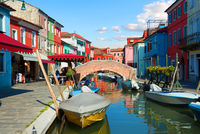 Bridge in Burano