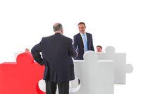 Business initiative volunteer concept