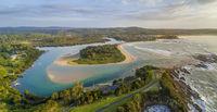 Mossy Point Australia panorama