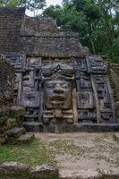 The Mayan ruins of Lamanai.