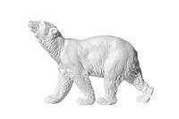 bear statue on a white background
