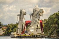 AxTech A-Frame Gantry Cranes, Stavanger Norway