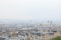 Roofs in residential quarter of Montmartre