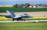 McDonnell Douglas F/A-18C Hornet der Schweizer Luftwaffe, Payerne, Schweiz