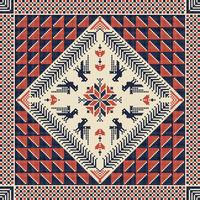 Palestinian embroidery pattern 44