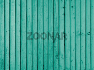Emerald wooden wall