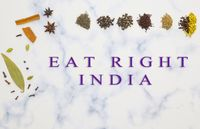 Concept of Right India Movement campaign launched by Indian Government to promote health and sustainability.