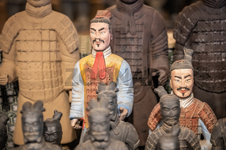 Mini soldiers figurines of the Terracota Army