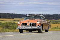 Classic 1950s Imperial Car Cruising