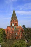 Lutherkirche in der Stadt Görlitz in Sachsen in Deutschland