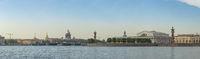 Saint Petersburg Russia city skyline panorama