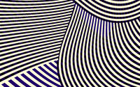 Abstract Curve Stripe Pattern