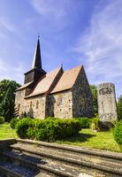 Dorfkirche Metzelthin (Wusterhausen/Dosse), Brandenburg, Deutschland