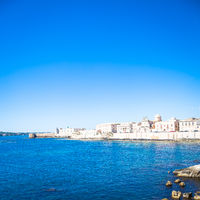 Ortigia view in Syracuse