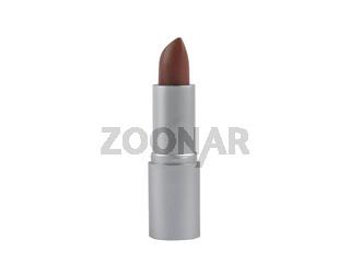 Dunkler Lippenstift auf weißem Hintergrund - Dark lipstick on white background