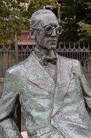 Monument to Le Corbusier in Moscow, Russia