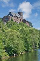 Burg Hengebach in Heimbach,Eifel Nationalpark,Nordrhein-Westfalen,Deutschland