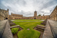 Tom Quad. Oxford University. England