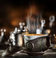 Coffee set in turkish style