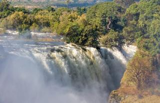 The Victoria falls, Zimbabwe, Africa
