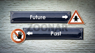 Street Sign to Future