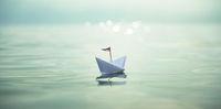 Sundown & Paper Boat - Panorama